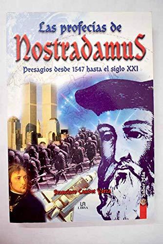 9788466203500: Profecias De Nostradamus