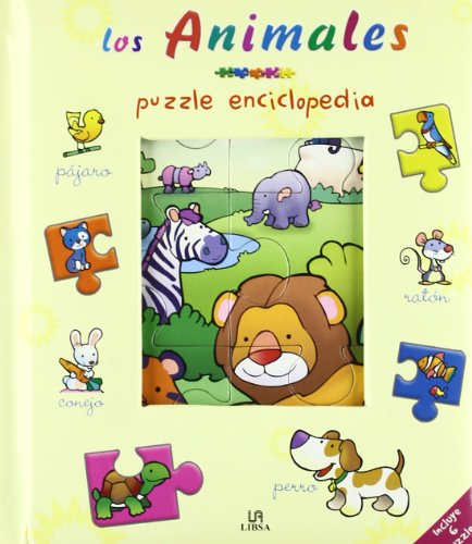 9788466216203: Los animales/ The Animals (Puzzle Enciclopedia) (Spanish Edition)