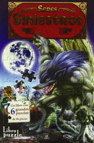 9788466217286: Seres Siniestros (Libro Puzzle)