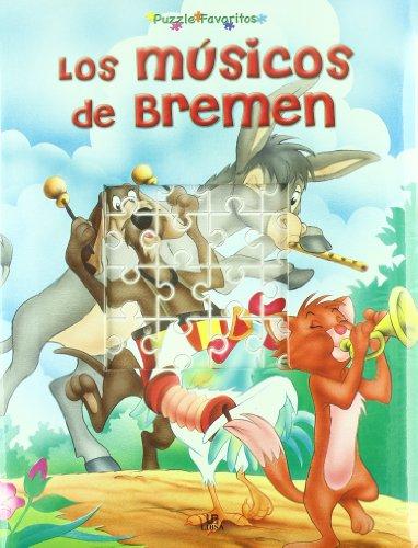 9788466217712: Los Músicos de Bremen (Puzzle Favoritos)