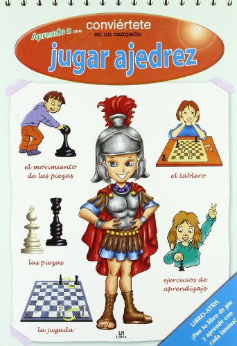 9788466218313: Aprendo a jugar ajedrez/ I Learn to Play Chess: Conviertete En Un Campeon/ Become a Champion (Spanish Edition)