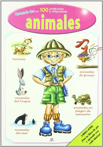 9788466218320: Aprendo los animales/ I Learn about Animals (Spanish Edition)