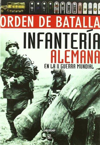 ORDEN DE BATALLA INFANTERIA ALEMANA
