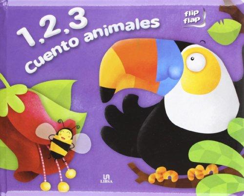 9788466223768: 1,2,3 Cuento Animales (Flip Flap)