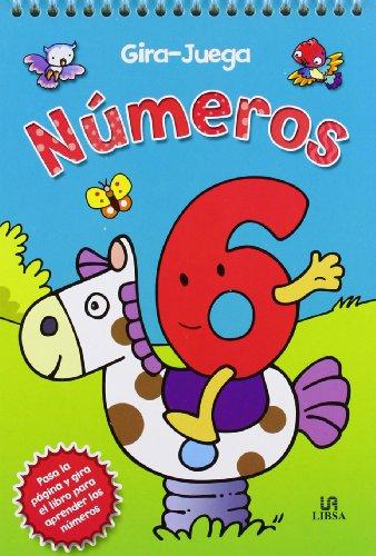 Números / Numbers (Gira-Juega / Turn-Play) (Spanish Edition): Editorial Libsa Sa