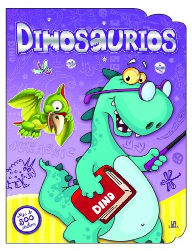 9788466227476: Dinosaurios (Pegatinas y Colorines)