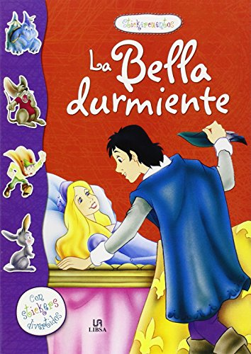 9788466228909: LA BELLA DURMIENTE-STICKER CUENTOS-PEGATINAS