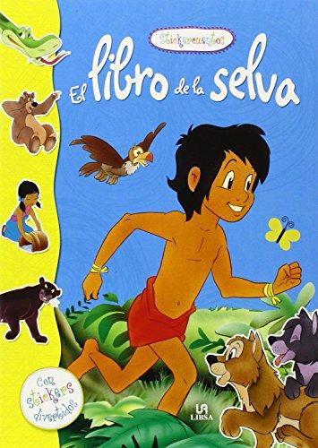 9788466228954: El Libro de la Selva (Stickercuentos)