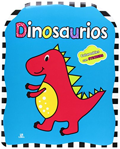9788466229142: Dinosaurios (Coloreables con stikers) (Coloreables con Stickers)