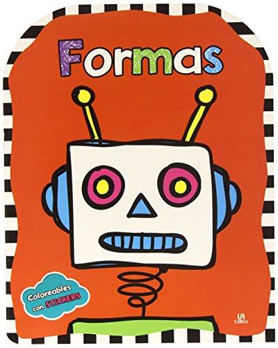 9788466229180: Formas (Coloreables con Stickers)
