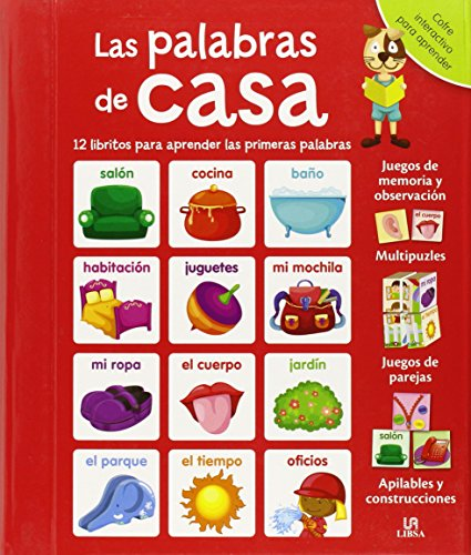 9788466230322: La Palabras de Casa: 12 Libritos para Aprender las Primeras Palabras