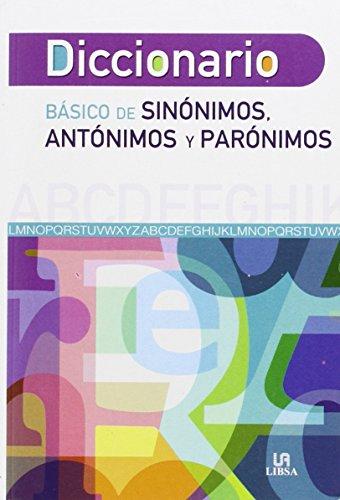 9788466231275: Diccionario Báisco de Sinónimos, Antónimos y Parónimos (Diccionarios)