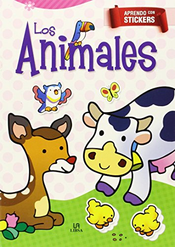 9788466231824: LOS ANIMALES-APRENDO CON STICKERS