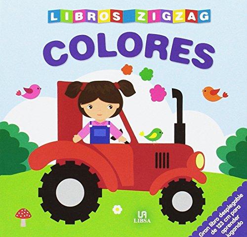 9788466232111: Colores (Libros Zigzag)