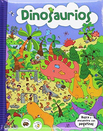 9788466234276: Dinosaurios (Busca y Encuentra con Pegatinas)