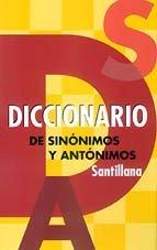 9788466300995: Diccionario de Sinónimos y Antónimos (Spanish Edition)