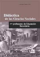 9788466501972: Didactica De La Ciencias Sociales, Geografia E Historia, Para Profesores De Educacion Secundaria.
