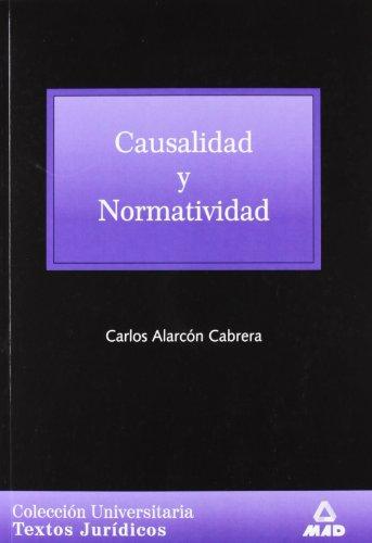 9788466502658: Causalidad Y Normatividad.