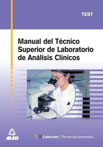 9788466513722: Manual del tecnico superior de laboratorio de analisis clinico