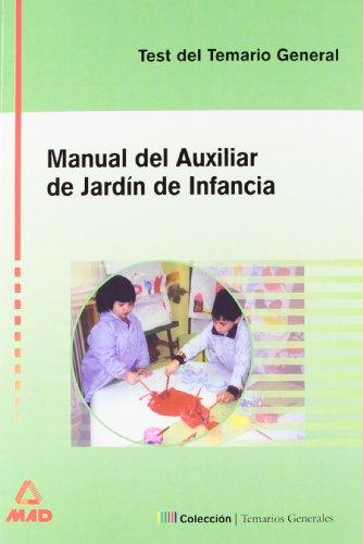 9788466525077: Auxiliar De Jardín De Infancia. Test Del Temario General