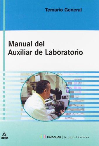 9788466528788: Manual Del Auxiliar De Laboratorio. Temario