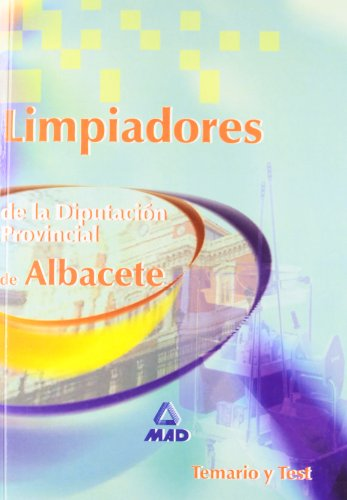 9788466535328: Limpiadores de la Diputación Provincial de Albacete. Temario y Test.