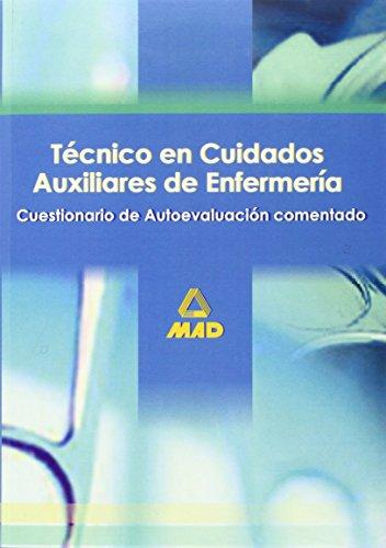 9788466539289: Tecnicos En Cuidados Auxiliares De Enfermeria. Cuestionario De Autoevaluacion Comentados