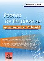 9788466543743: Peones de Limpieza del Ayuntamiento de Valladolid: Temario y Test