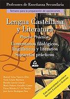 9788466545792: Lengua y literatura castellana. Profesores de enseñanza secundaria. Prueba practica. (Profesores Secundaria - Fp)