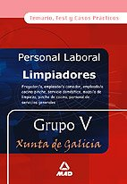 9788466550932: Limpiadores xunta de galicia. Grupo v temario, test y casos prácticos