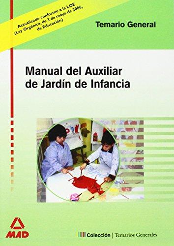 9788466567190: Temario General De Auxiliar De Jardin De Infancia