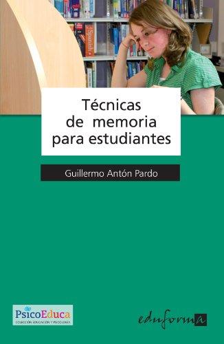 9788466568289: Tecnicas De Memoria Para Estudiantes (Spanish Edition)