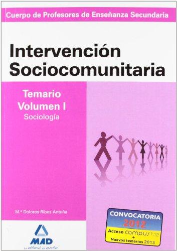 9788466586788: Intervencion Sociocomunitaria - Temario Vol. I (Profesores Eso - Fp 2012)