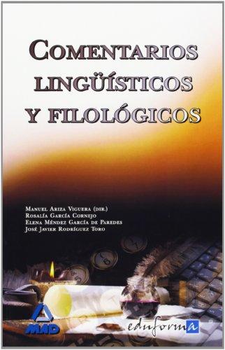 9788466587556: Comentarios Lingüísticos Y Filológicos