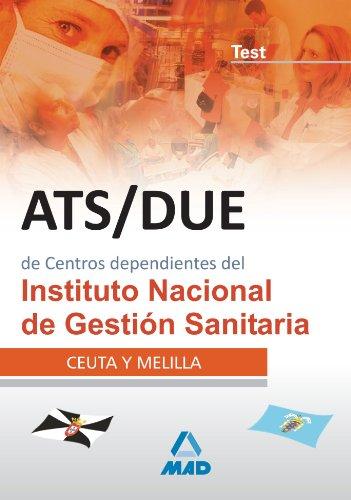 9788466594271: Ats/Due De Centros Dependientes Del Instituto Nacional De Gestión Sanitaria. Test
