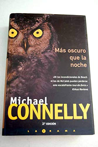 9788466604765: Mas Oscuro Que La Noche (Spanish Edition)