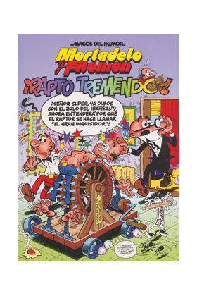 9788466614054: Mortadelo y filemon rapto tremendo