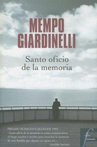 9788466614573: Santo Oficio De La Memoria/the Memory's Saint Job (Ficcionario) (Spanish Edition)