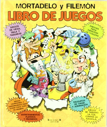 9788466616119: MORTADELO Y FILEMON. LIBRO DE JUEGOS