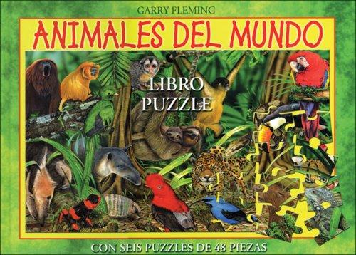 ANIMALES DEL MUNDO (LIBRO PUZZLE)