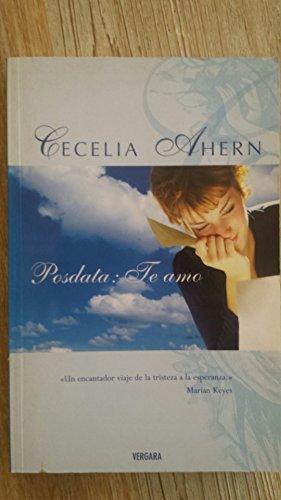 POSDATA: TE AMO (SEDA): Cecelia Ahern