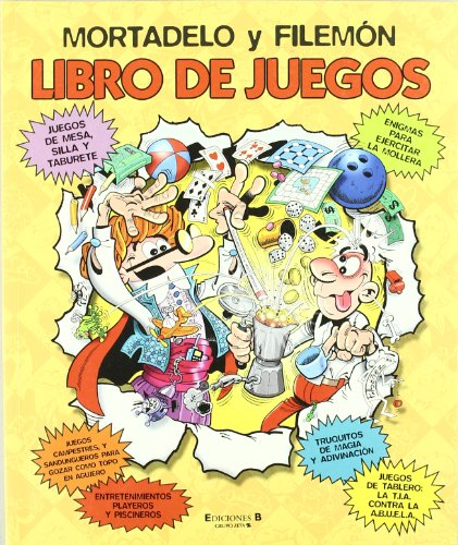 9788466630856: MORTADELO Y FILEMON. LIBRO DE JUEGOS (B CÓMIC)