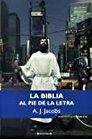 9788466640114: la biblia al pie de la letra