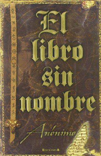 El libro sin nombre: Anonimo