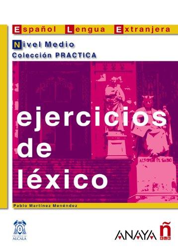 9788466700641: Ejercicios de léxico. Nivel Medio (Material Complementario - Practica - Ejercicios De Léxico - Nivel Medio)