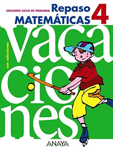 Repaso matemáticas, 4 Educación Primaria, 2 ciclo.: Luis . .