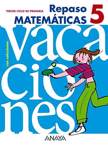 9788466705431: Repaso matemáticas 5 con soluciones (3º primaria) - 9788466705431
