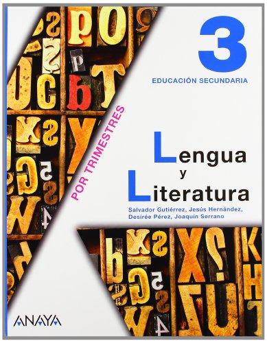 9788466713658: Lengua y literatura, 3 ESO (Andalucía, Castilla-La Mancha)