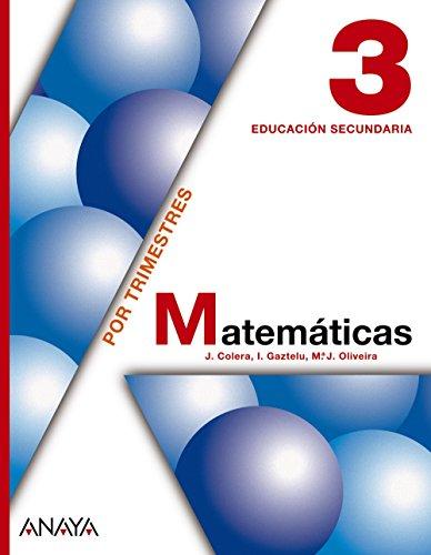 9788466713665: Matemáticas 3. - 9788466713665