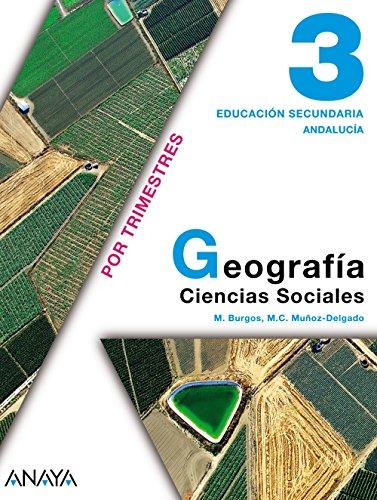 9788466716253: Geografía 3. 3º Educación Secundaria Obligatoria. Libro del Alumno. Andalucía